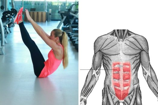 Favorite Six-Pack Exercise