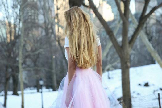 A Fashion Week Snow Queen