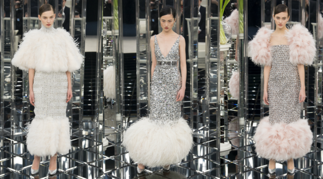 Elegant Suiting and Dazzling Evening Gowns from Chanel SS\'17 Couture ...